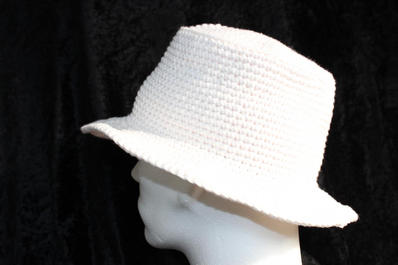 hvid hat