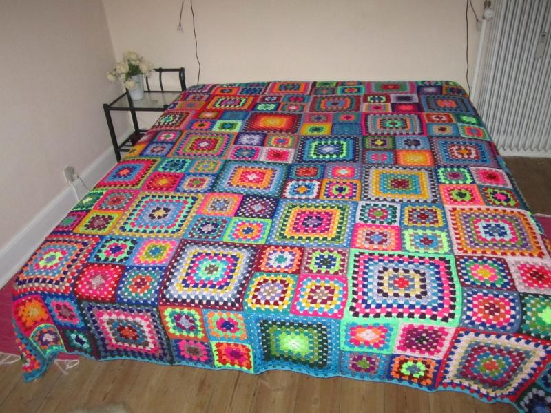 hæklet sengetæppe Meget stort, hæklet sengetæppe   Tæpper   Uniqa Messen hæklet sengetæppe